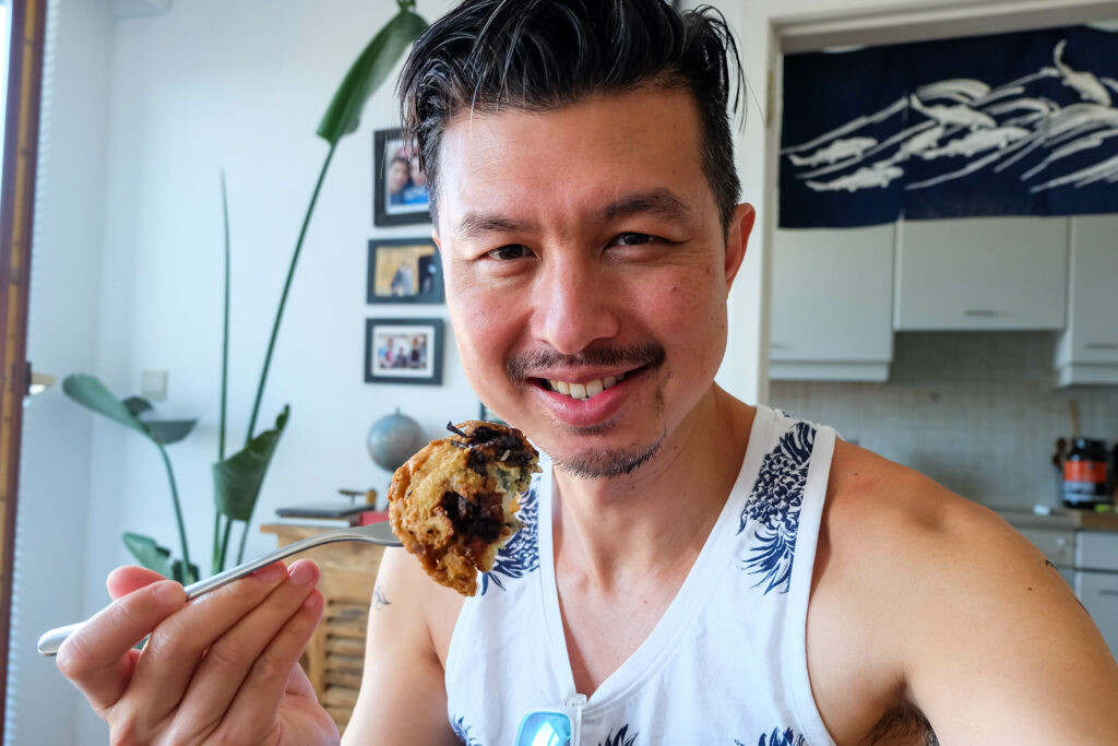 Hockchew Clam Fritters: Tan Bia 福州蛏饼