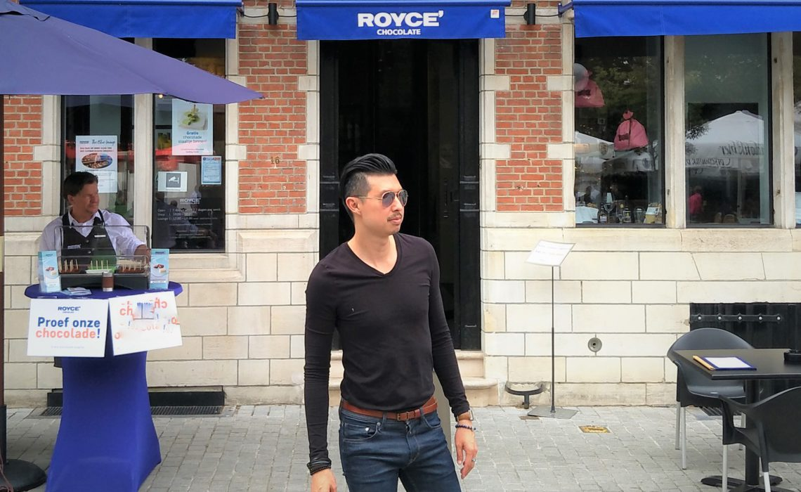 Carry It Like Harry - Review of Royce Europe Flagship Store in Antwerp Belgium Fine Japanese Chocolates