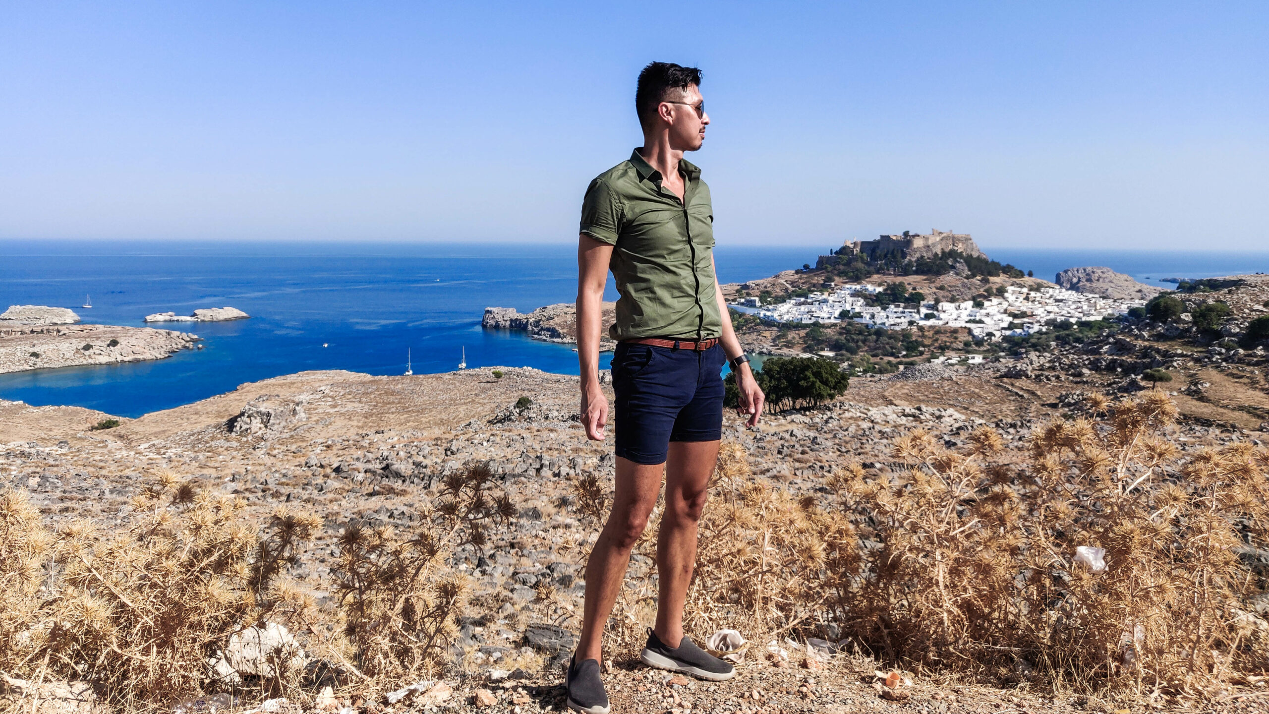 Lindos Λίνδος: The Most Picturesque City on Rhodes