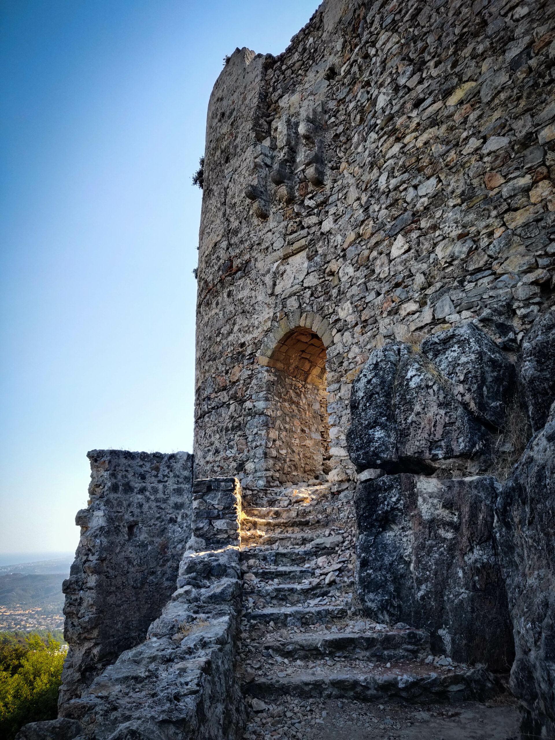 Climb the Knights Hospitaller's Castle of Asklipio in Rhodes