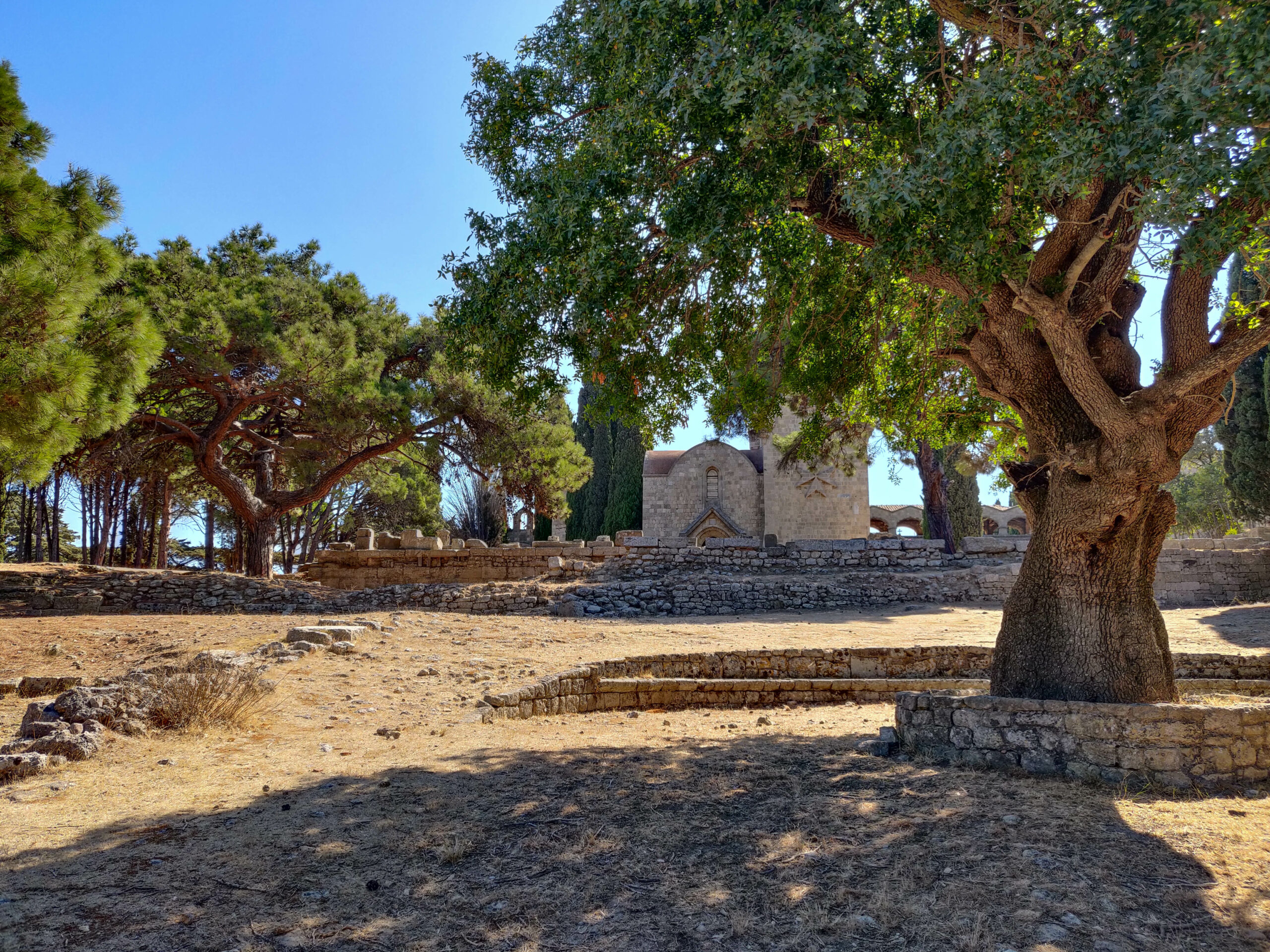 Go for a nice morning stroll in Ancient Ialysos Ιαλυσός