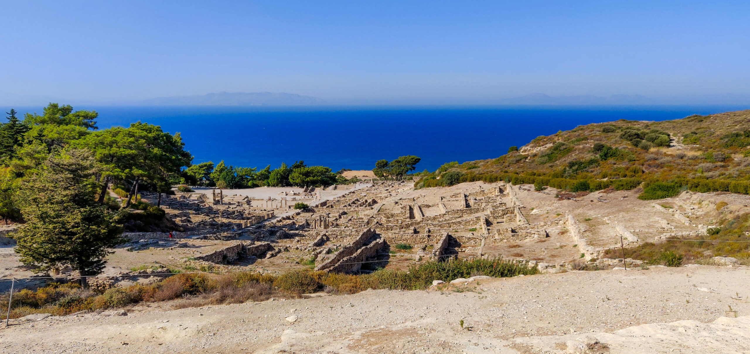 Kamiros Κάμειρος: Visit the Only Existing Intact Ancient Greek City in the World